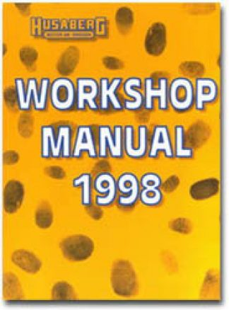 Official 1998 Husaberg 400 501 600 Workshop Manual