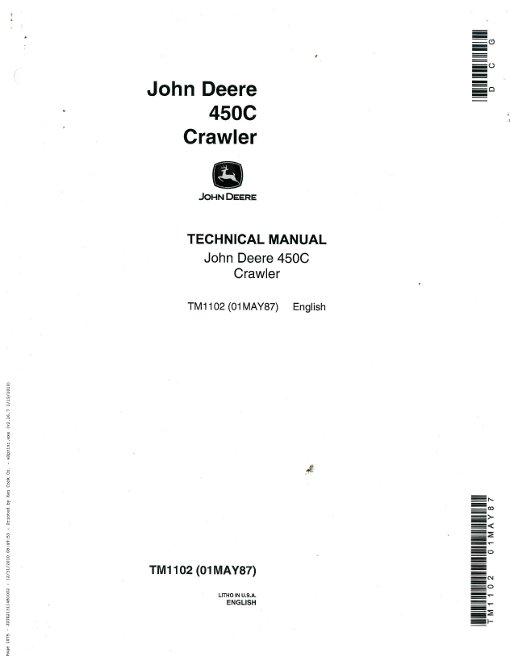 john deere 450c crawler service manual rh repairmanual com case 450c dozer service manual yaesu g 450c service manual