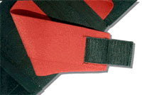 Kevco-Stubbs Kidney Support Belt - 7 inch X-Large Red