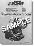 Official 1983 KTM 250MX Owners Repair Manual