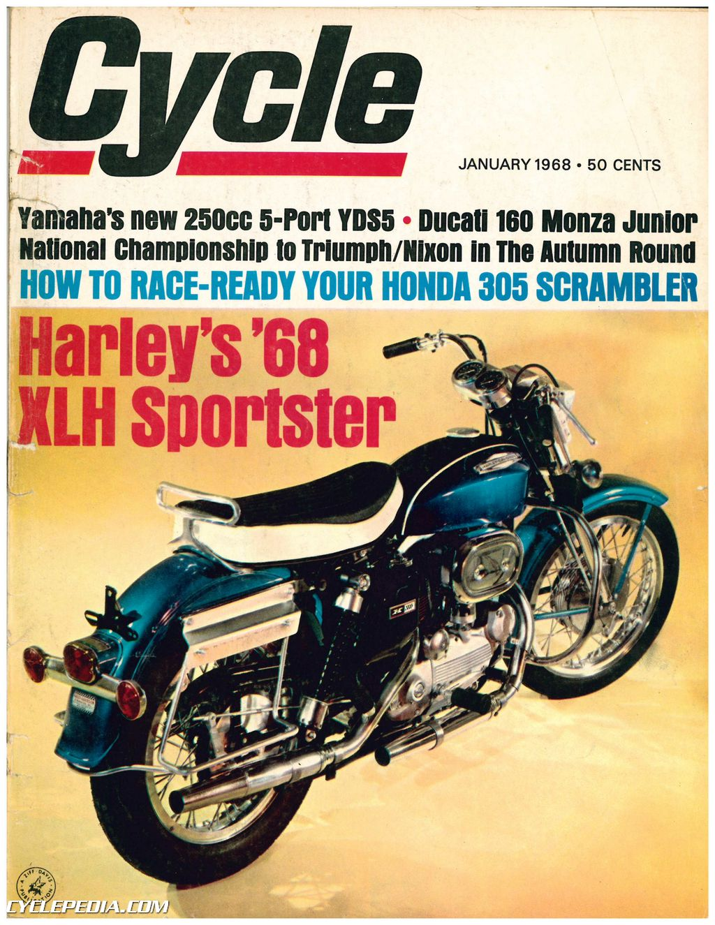 January 1968 Cycle Magazine