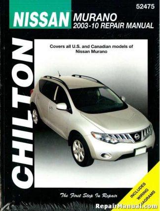 Nissan Murano 2003-2010 SUV Repair Service Manual Chilton