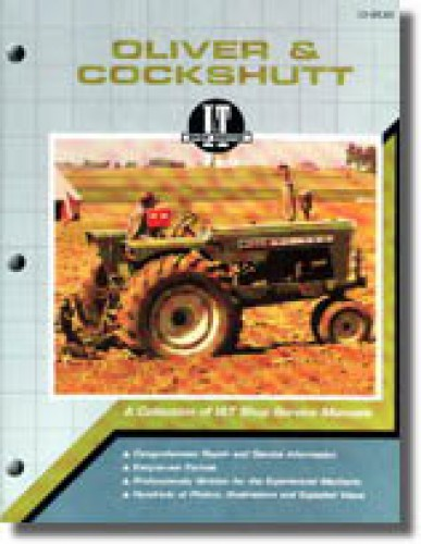 oliver cockshutt g t series farm tractor repair manual oliver cockshutt g 550 g 750 g 850 g 940 g