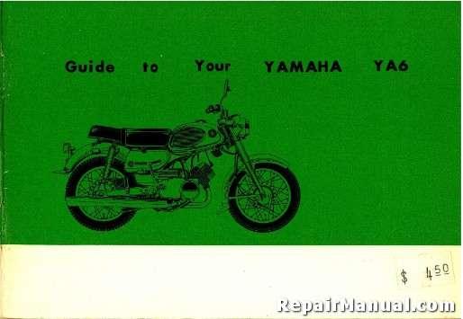 1964 yamaha ya6 motorcycle owners manual rh repairmanual com yamaha motorcycle owners manuals online yamaha motorcycles owners manuals pdf
