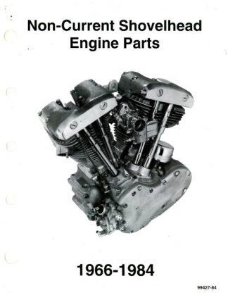 1966 1984 harley davidson non current shovelhead engine parts manualHarley Engine Parts Diagram #15