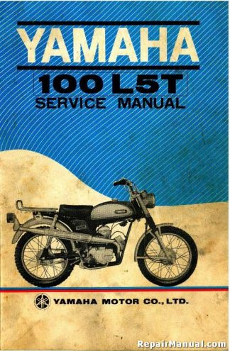 Official 1969 Yamaha L5T Trailmaster 100 Motorcycle Factory Service Manual