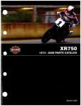 Official 1972-2008 Harley Davidson XR-750 Parts Manual