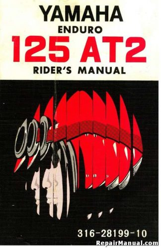 1972 Yamaha AT2 Owners Manual