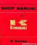 Official 1973-1975 Kawasaki G5 G7 100cc Factory Repair Service Manual