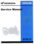Used Official 1976 to 1982 Honda ST50-70-CT70-70H Factory Service Manual