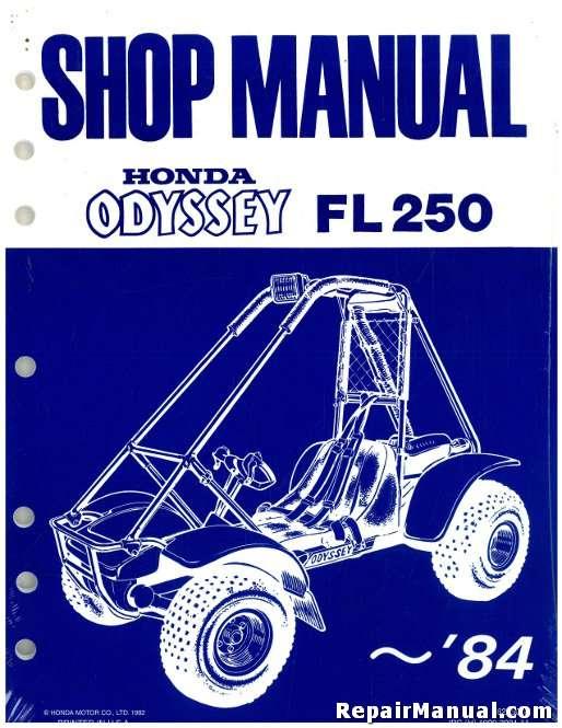 1977 1984 fl250 honda odyssey service manual rh repairmanual com Honda Odyssey ATV Craigslist Custom Honda Odyssey ATV