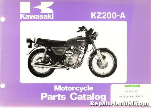 motorcycle parts manual online