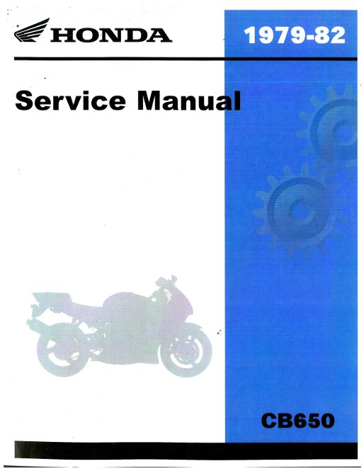 Honda Motorcycle Service Manual Free Download