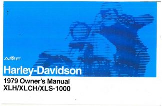 1979 Harley Davidson XL XLCH XLS-1000 Owners Manual