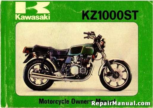 1979 kawasaki kz1000 e1 shaft motorcycle owners manual rh repairmanual com kz1000 owners manual kz1000 shop manual