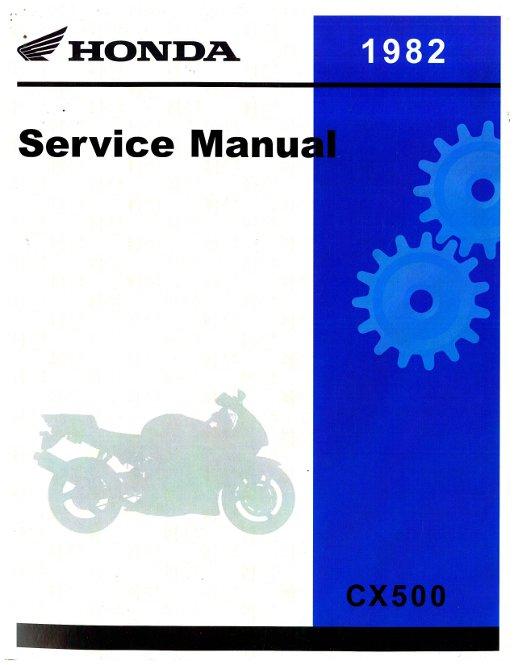 1982 honda cx500tc turbo motorcycle service manual rh repairmanual com Helm Service Manuals Honda honda cx500 turbo owners manual