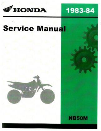 Official 1983-1984 Honda NB50M Factory Service Manual