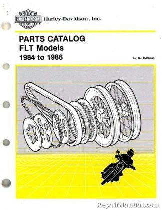 Official 1984-1986 Harley Davidson FLT model Parts Manual