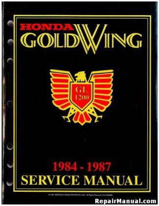 1984-1987 Honda GL1200A I Factory Shop Manual