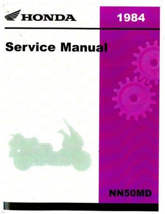 Official 1984 Honda NN50MD Factory Service Manual