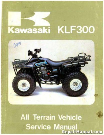 1986-2004 Kawasaki KLF300 Bayou ATV Service Manual