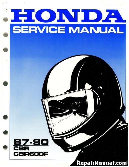 1987 1990 honda cbr600f service manual rh repairmanual com honda cbr 600 f repair manual honda cbr 600 f repair manual