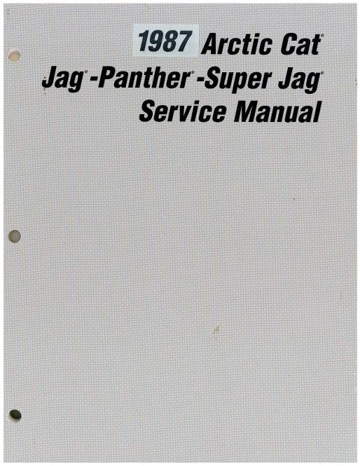 Arctic Cat Panther  Manual