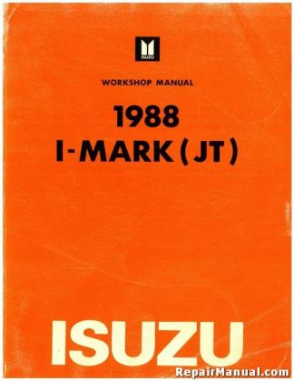 Official 1988 Isuzu Imark 88 Workshop Manual
