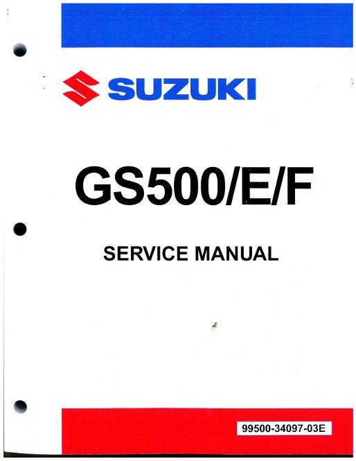 1989 2009 suzuki gs500 motorcycle service manual rh repairmanual com suzuki gs500 repair manual download free 2004 suzuki gs500 repair manual