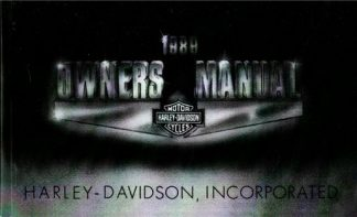 Official 1989 Harley Davidson All Owners Manual