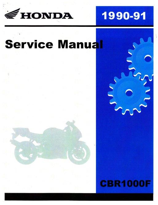 Used 1993-1995 honda cbr1000f service manual.