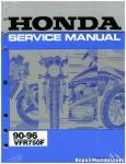 Official 1990-1996 Honda VFR750F Factory Service Manual