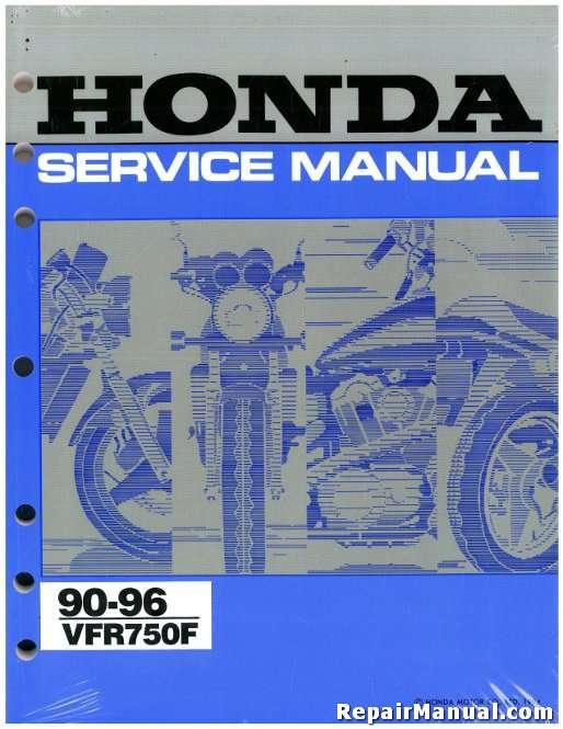 1990 1996 honda vfr750f service manual rh repairmanual com honda vfr 750 service manual honda vfr750f manual download