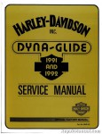 Official 1991-1992 Harley Davidson FXD Dyna Service Manual