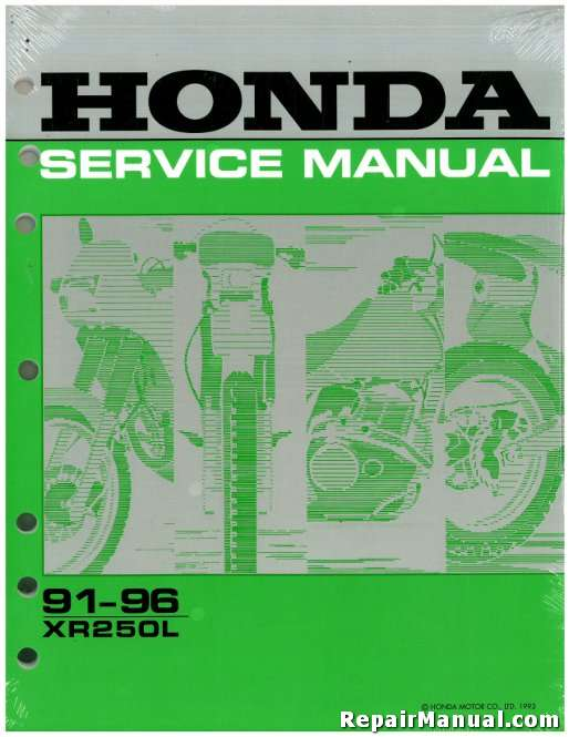 honda factory service manual online