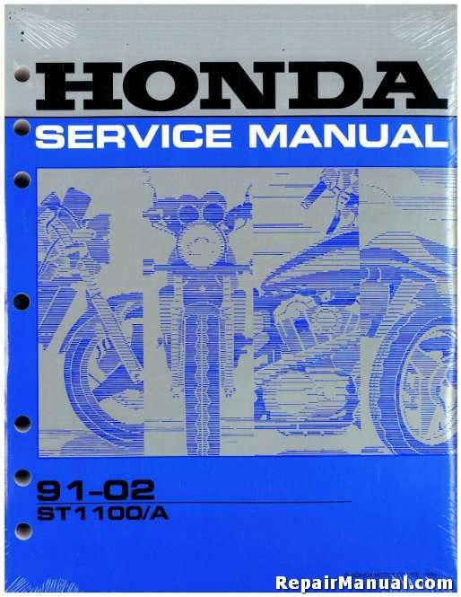 1991 2003 honda st1100 a motorcycle service manual rh repairmanual com 2002 Honda CBR 1100 1992 Honda ST1100
