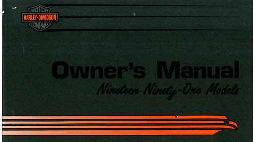1991 harley davidson all motorcycle owners manual rh repairmanual com Harley-Davidson Repair Manual Haynes Harley-Davidson Parts