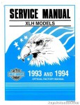 Official 1993-1994 Harley Davidson XL Motorcycle Service Manual