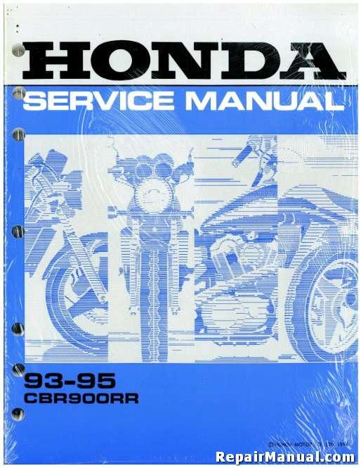 1993 1995 honda cbr900rr service manual rh repairmanual com 1993 mustang factory service manual Haynes Auto Repair Manuals