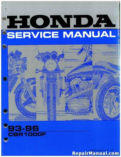 1993 1996 honda cbr1000f hurricane service manual. Black Bedroom Furniture Sets. Home Design Ideas