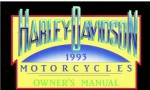 Official 1993 Harley Davidson All Owners Manual