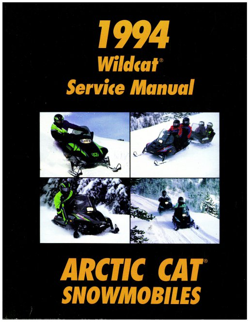1994 Arctic Cat Wildcat Efi Wildcat Efi Mountain Cat