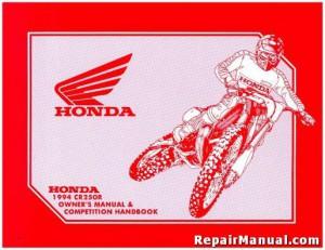 honda cr85 service manual free download