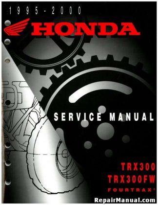 61HN006 1998-2004 Honda TRX450FE FM FourTrax Foreman ATV Service Manual