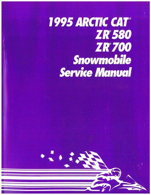 1995 arctic cat zr580 zr700 snowmobile service manual rh repairmanual com 1999 Arctic Cat 600 Arctic Cat 700 Snowmobile