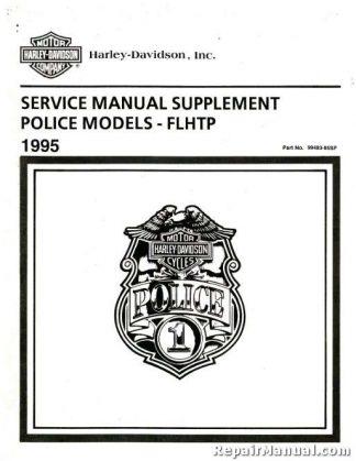 Official 1995 Harley Davidson FLHTP Service Manual Supplement