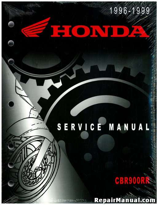19961999    Honda    CBR900RR Motorcycle Service Manual