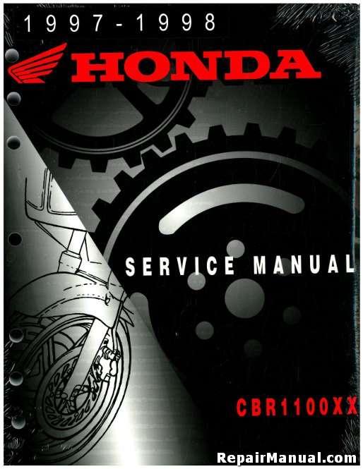 1997-1998 Honda CBR1100XX Blackbird Service Manual - Repair Manuals Online