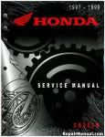 Official 1997-1999 Honda CR250R Factory Service Manual