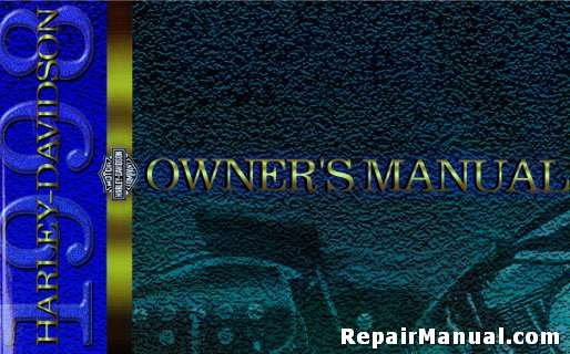 1998 harley davidson all model motorcycle owners manual rh repairmanual com harley davidson owners manual pdf harley davidson owners manual online